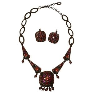🇨🇦 Vintage 90s Taratata Paris jewelry set